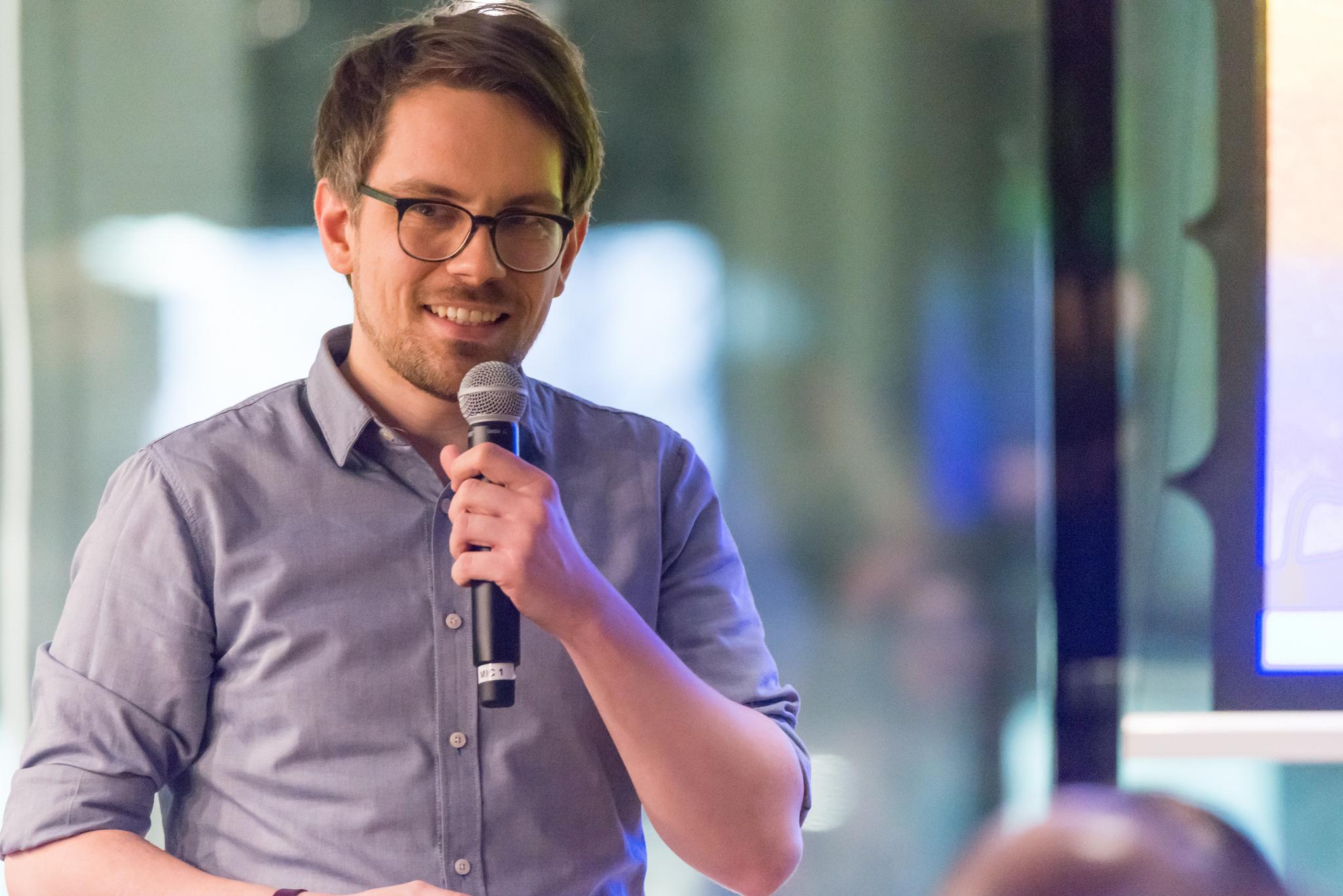 Johannes Baeck at IxDA Frankfurt 2018